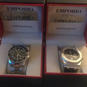 Emporio watches Great Father's Day gift